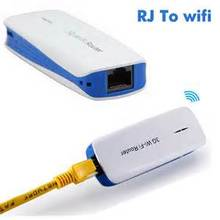 Portable 150 Mbps 3G/4G Wireless Wi-Fi Router as Power Bank for iPhone/iPad/Smartphones/Tablet/PSP/Skype(China)