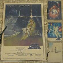 Vintage Paper Retro anime poster - Star Wars Movie Poster -Posters cudi poster/Vintage Home Wall sticker Decor 42*30CM