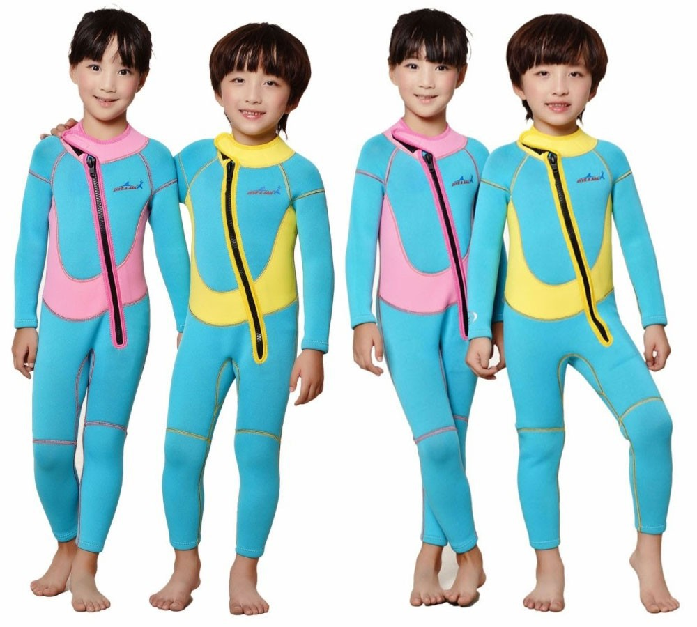 WDS-8001-10-Description-Neoprene-Wetsuit-Children-Kids-Style-Warm-Switsuit-Rash-Guards