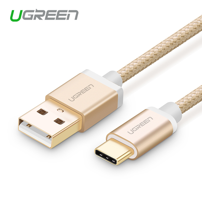Ugreen USB Type C Cable USB C 3.1 Type-C Fast Data Sync Charger Cable for xiami 4c, xiaomi 5s xiaomi mi5 meizu pro 6 one plus 3