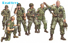 Out of print product! Italeri model 309 1/35 U.S. PARATROOPS plastic model kit