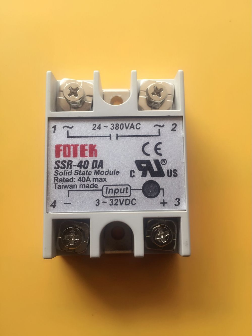 SSR - 40 DA 40A solid state relay/Isolation between the input - output voltage 2500 v<br><br>Aliexpress
