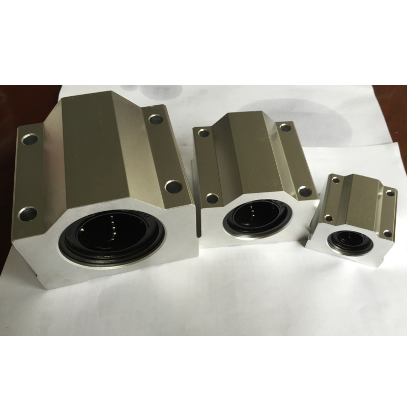 4pcs/lot SC6UU SCS6UU 6mm linear ball bearing slide unit 6mm linear bearing block<br><br>Aliexpress