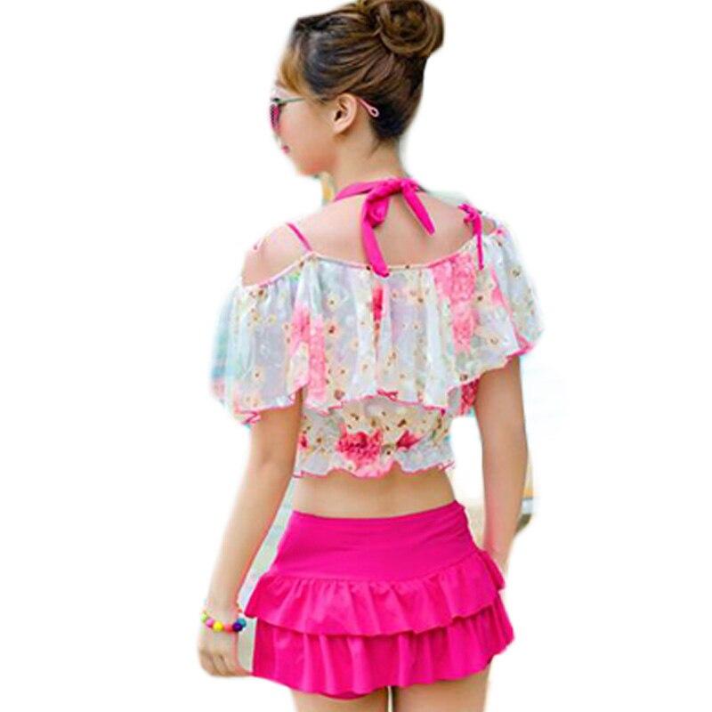 New Style Lovely Girl Bikini Set Push Up Padded Biquni Swimwear Bandage Mini Skirt Beach Wear Steel Bra Bikini Banador DA943<br><br>Aliexpress