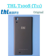 Used Original Battery housing case with WIFI antenna , NFC antenna For THL T100S THL T11 Free shipping(China)