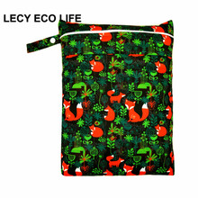 Buy 1pc digital print double pockets baby nappy bag, waterproof wet dry hanging bag keep baby cloth diaper,diaper bag zipper for $4.55 in AliExpress store