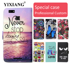 Fashion cartoon printed flip wallet leather case for Vernee Thor E with Card Slot phone bag book case,free gift