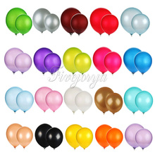 "Top quality 12"" Latex Balloons 3.2g Celebration Birthday wedding Party Decorative toys Pearl Balloon gift balls"