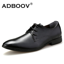 formal classic style mens business leather shoes black brown white color man's office soft leather shoes new gents dress derby(China)