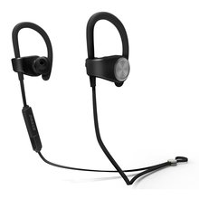 Sports Bluetooth Earphone Wireless Headphones Bluetooth Headset Stereo Noise Cancelling Sweatproof Earphone with Mic For Phone(China)