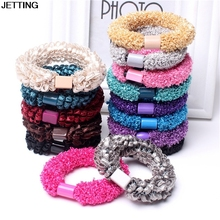 10pcs/lot Elastic Hair Bands Corn Flower Hair Rope Hair Holders Hair Accessories