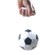 Football Ball Size 2 PVC Soccer Ball With Rope Training Exercise Football Ball Leather Soccer Ball Brands New 2017 For Beginner