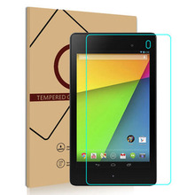 "9H Tempered Glass Screen Protector Film Guard Shield For Google Nexus 7 II N7 2nd Gen 7"" inch Tablet PC"