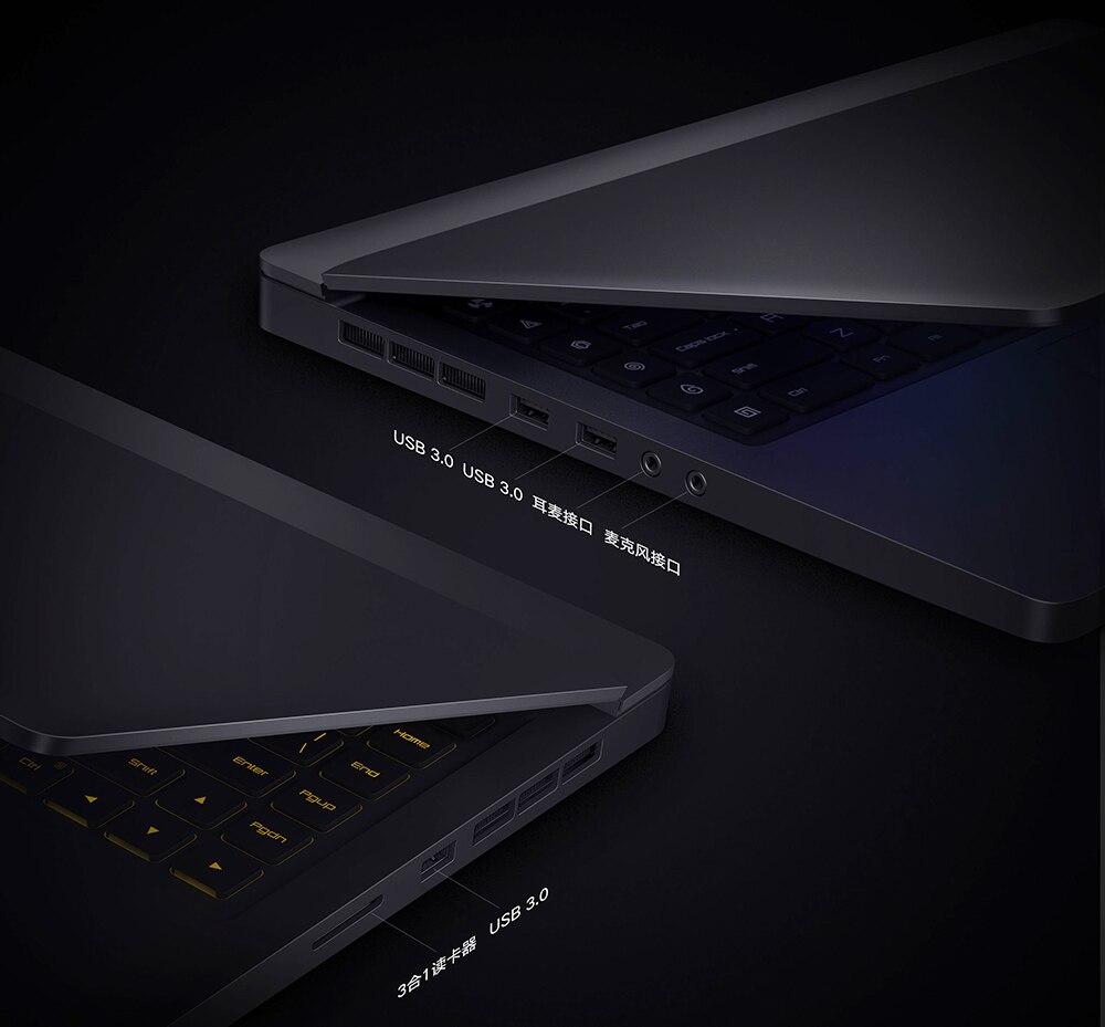 2018 New Xiaomi Mi Game Notebook 15.6 inch 128GB 256GB SSD1TB Quadcore 8GB 3.5GHz 7300HQ 7700HQ laptop GTX 1050 Ti1060 30