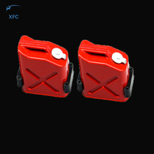 2pcs Fuel Tank for RC 1/10 Axial Wraith SCX10 EXO AX10 RC Crawler Truck
