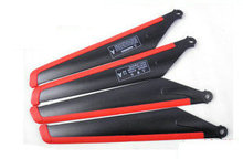 MJX T34 T11  RC helicopter spare parts main blades 4 big propeller rotor blades