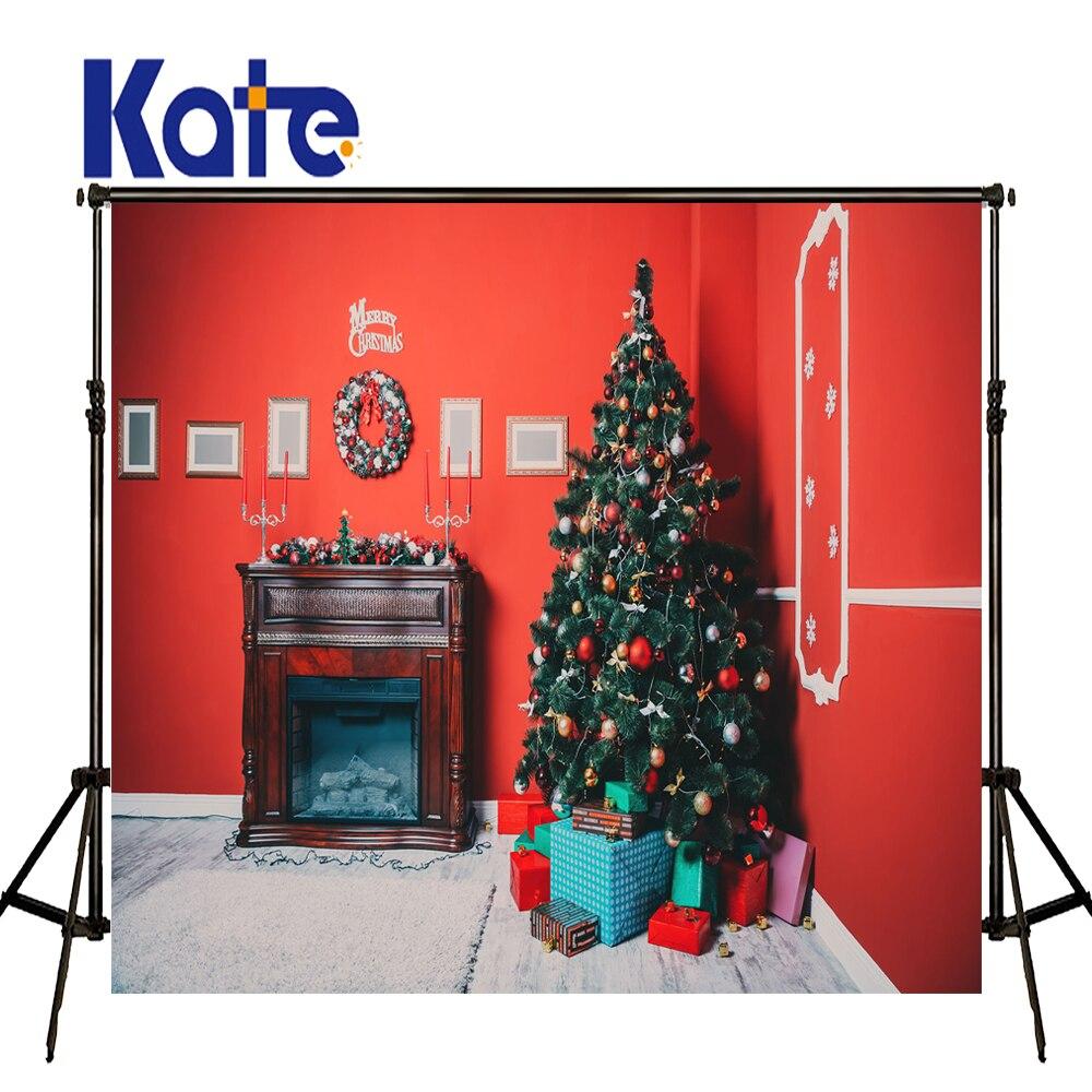 KATE Photo Background Kids Christmas Photo Backdrop Arvore De Natal Backdrops Newborn Background Red Brick Wall Photo for Studio<br>