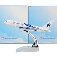 MALAYSIA AIRLINES SYSTEM BERHAD Airbus 380 16cm model airplane kits child Birthday gift plane models toys  Christmas gift