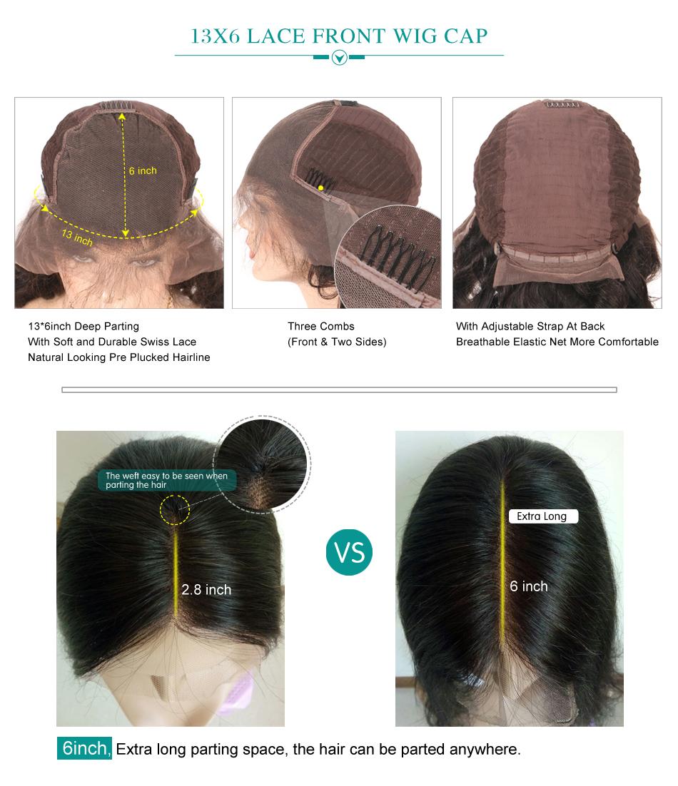 13x6 Lace Front Wig Cap (2)