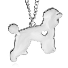 Lovely Teddy Dog Pendant Necklace Creative Minimalist Cute Little Animal Dog Necklace Gift for Woman Man Lovers Bijoux