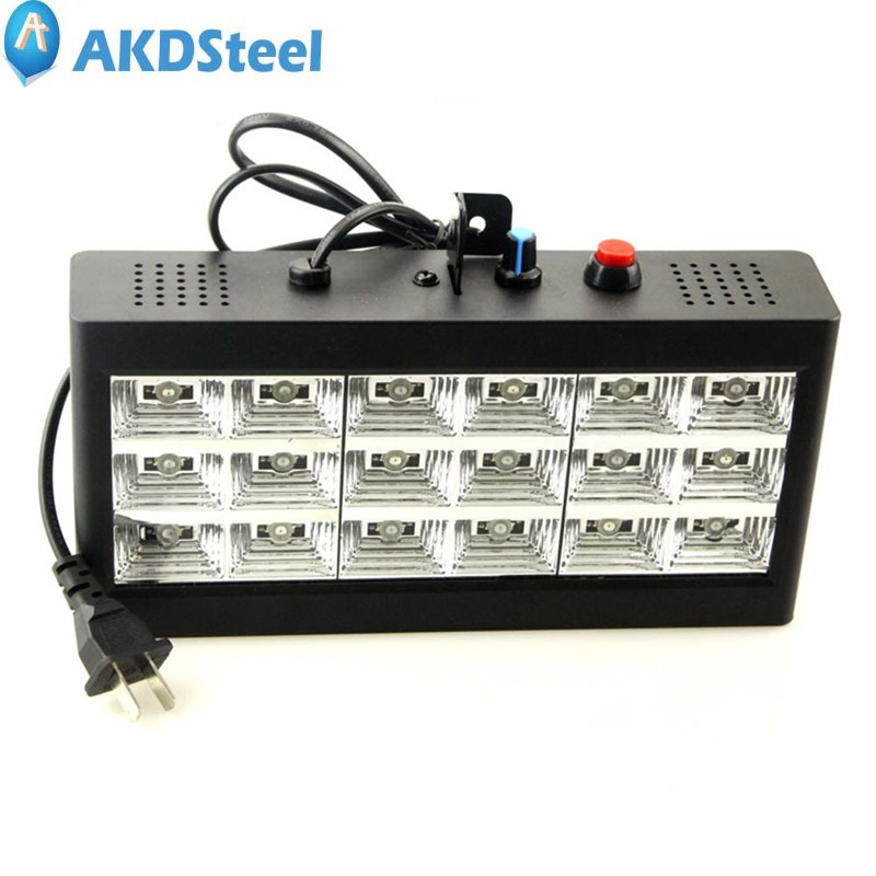 AKDSteel Exquisite LED Stage Strobe Light Flash Light for Club KTV Bar Wedding Ceremony Family Union<br>