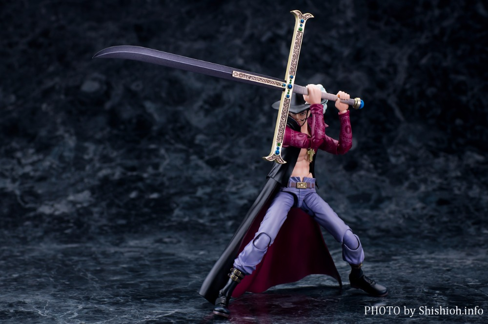 VAH Variable Action Heroes ONE PIECE Dracule Mihawk Action Figure<br>