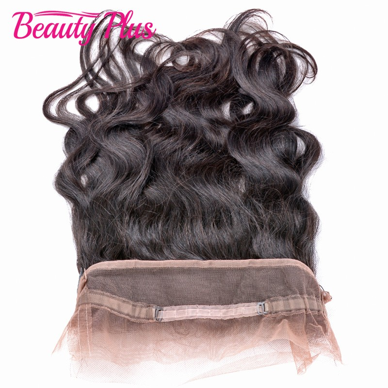 Pre Plucked 360 Lace Frontal Band Body Wave Natural Hairline With Baby Hair Bleached Knots Brazilian Body Wave Frontal Closure<br><br>Aliexpress