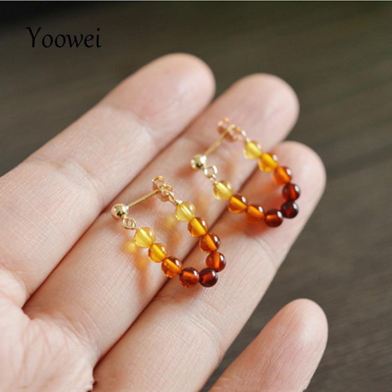 earrings amber (2)