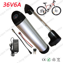 Electric Bicycle Electric Bike E-bike Battery 36V 6AH Water Bottle Lithium ion Battery Bicycle Motor 500W Accumulator Battery(China)