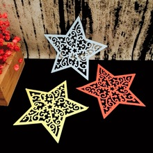 Snowflake Star Cutting Dies Metal Scrapbooking Emossing Stencil Card Die For DIY Invitation Album Book Decoration 101x97mm(China)