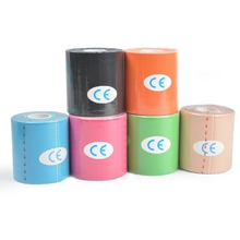 1 Roll 7.5cm Kinesiology Tape,Waterproof Elastic Physio Therapy Muscle Tape,Sports Safety Tape Bandage Strain Injury Support
