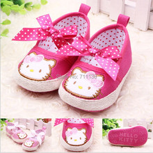 Cute Embroidered Baby Shoes Kids Girls Toddler Shoes Breathable  Infant First Walkers - Multi-type