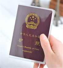 New Transparent waterproof dirt ID Card holders passport cover business card credit card bank card holders