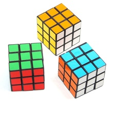 5.3 CM 3x3x3 Pocket Puzzle Magic Cube Hand Spinner Game for Kids Mini Stickers Fidget spinner Magic Cube
