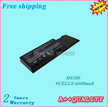 High quality 9cells M6500 Laptop battery For DELL Precision M2400  M4400 Replacement batteries