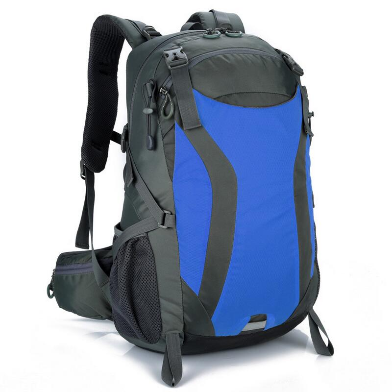 Outdoor Backpack Hiking Camping Climbing Travel Sports Backpack Mountaineering Rucksack Waterproof Bag 30L Bicycle Backpacks<br>