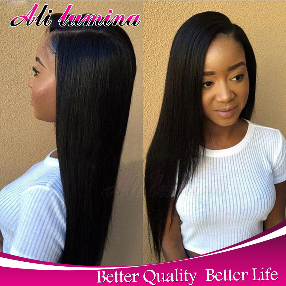 Cheap Synthetic Lace Front Wigs For Black Women With Baby Hair Perruque Synthetic Women Wigs For African Americans Long Bob Wig<br><br>Aliexpress