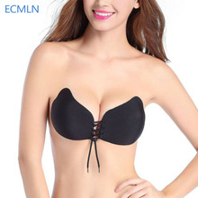 Women Bra Invisible Strapless Bra Push Up Silicone Women's Bras Intimates bras