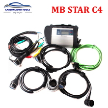 2017 Best full chip MB Star C4 Multiplexer mb sd connect compact 4 diagnostic tools better than mb C3 with Software in HDD