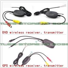 2.4Ghz Wireless Transmitter Receiver for Reverse Camera Video Car Backup Rearview Parking reversing DVD/GPS Player Monitor(China)