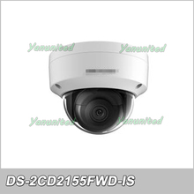 Original English Version Surveillance Camera DS-2CD2155FWD-IS 5MP Dome IP Camera H.265 IP67 1K10 Support Audio/Alarm