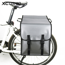 Buy 2017 Waterproof Bicycle Luggage Travel Bags Long Distance Cycling Bicycle Rear Bag MTB Bike Double Side Rear Seat Trunk Bag for $28.89 in AliExpress store