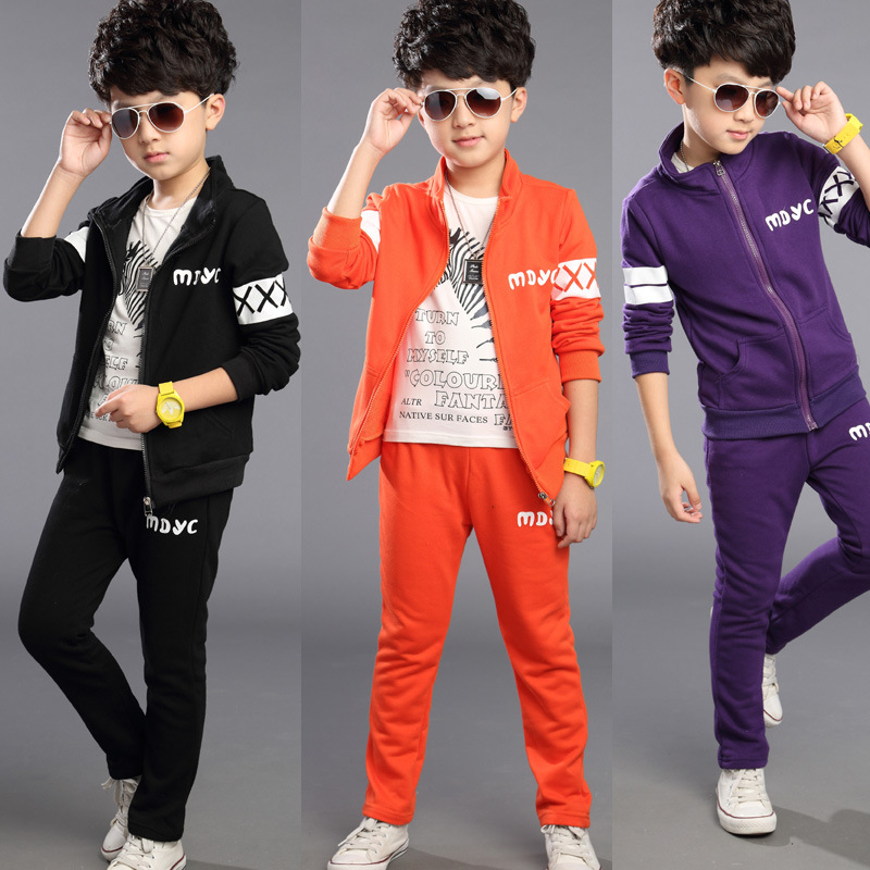 New Children Clothing Leisure Suit Boys And Grils AutumnTwo-piece Uniform Children Suit Childrens Clothes<br><br>Aliexpress