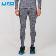 2017 UTO Men's COOLMAX Sports Pants Cooling Running Long Trousers Tights Keep Quick-drying Clothing 967110(China)