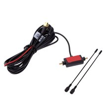 Wholesale5pcs*In Car Radio Digital TV Antenna with Amplifier DVB-T ISDB-T Signal Antenna(China)