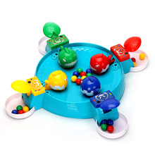 Caribe Play With Bead Toys Fun Desk Game Ocean Crab Fish Game Gifts For Kids