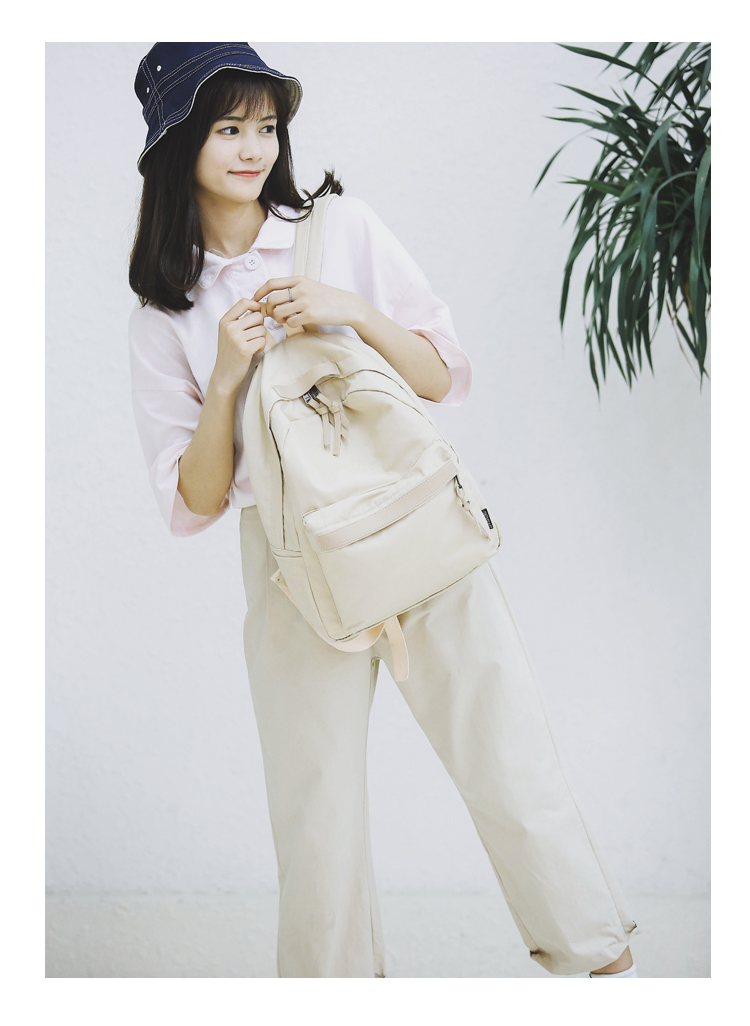 Menghuo High Quality Women Canvas Backpack Teenage Girls Leisure Backpack Bag Vintage Stylish Female School Bag Bookbag Mochilas (20)