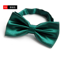 SCST Brand Designer Casual Fashion Solid Green Men Bow Ties For Boy Bowtie 2017 New Pajaritas Men Bow Tie Slim CR068