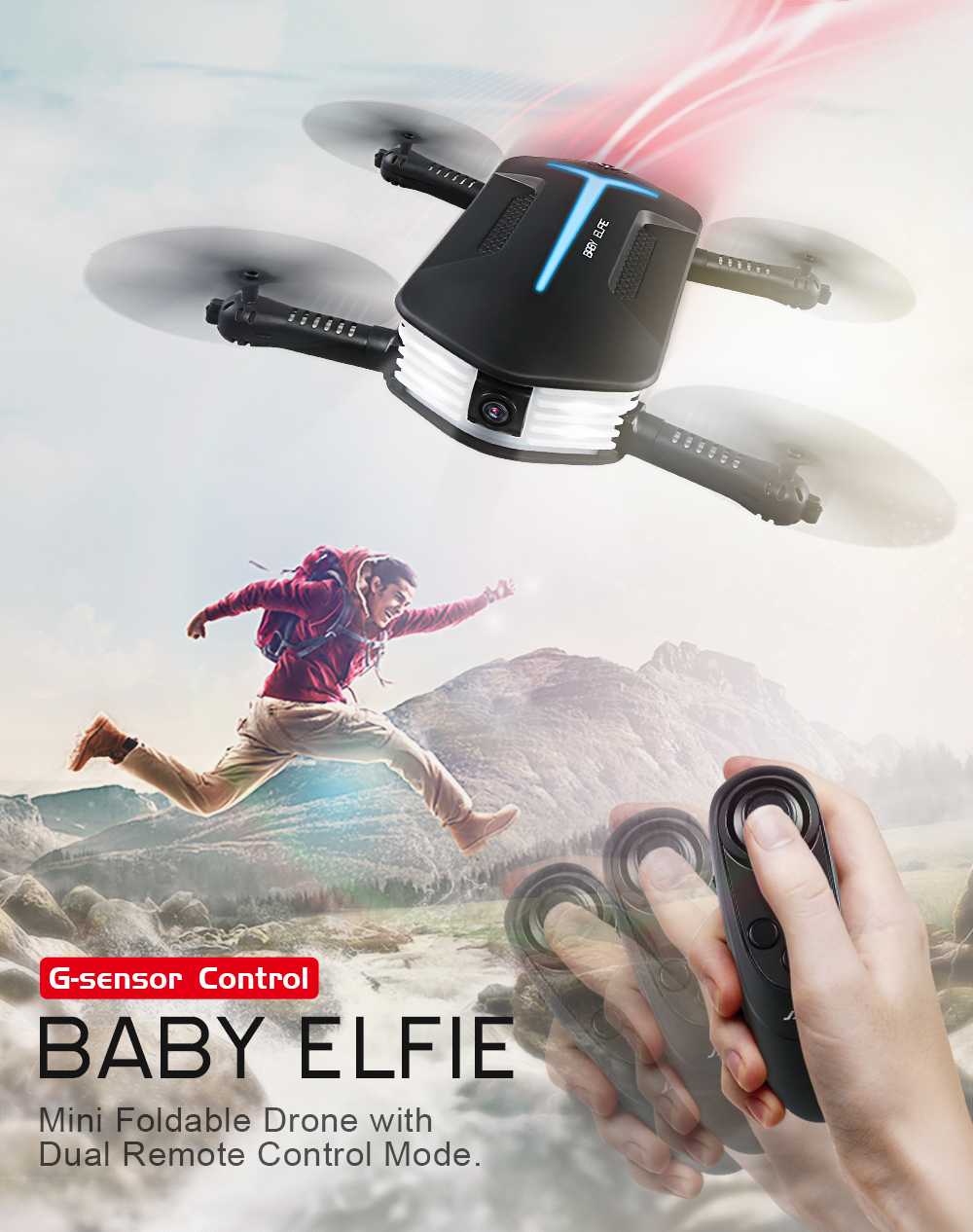 Per-order JJR/C JJRC H37 Mini FPV RC Drone WiFi 720P Camera Gravity Sensor Mode RC Quadcopter Helicopter VS eachine E52