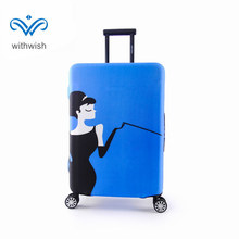 Travel Luggages Protective Fit Case Perfectly Apply to 18~32 Inch Baggages High Elastic Thickened Suitcase Cover Protector(China)